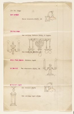 Page 2 of Proposal for Lighting Fixtures