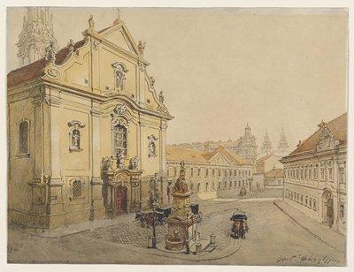 Baroque Church, Budapest