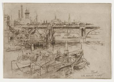 Penny Steamboats at Waterloo Bridge