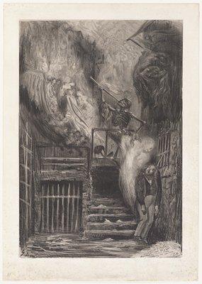 Street of the Old Lantern (Death of Gérard de Nerval)