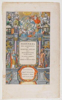 Frontispiece from Tooneel, or Theatrum