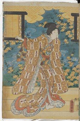 Young Woman on a Veranda