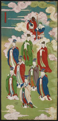 The Exalted Emperors and The Gods of the Five Directions