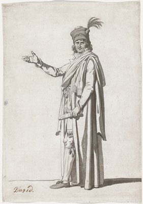 Study for a Costume of a Civil Official