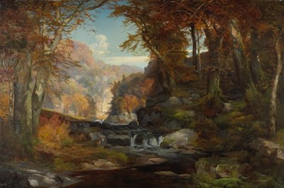 Landscape. Tohickon Creek, Pennsylvania.