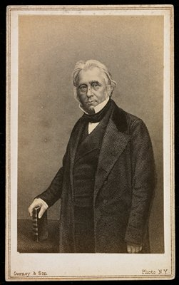 English author and politician; from wet plate negative of an engraving