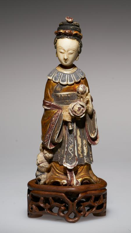 carved figure, probably a princess