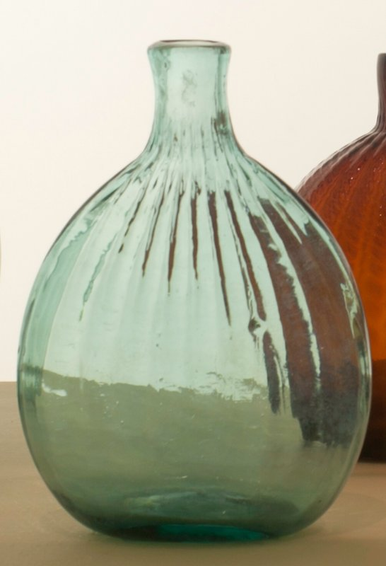 bottle (blue-green) glass