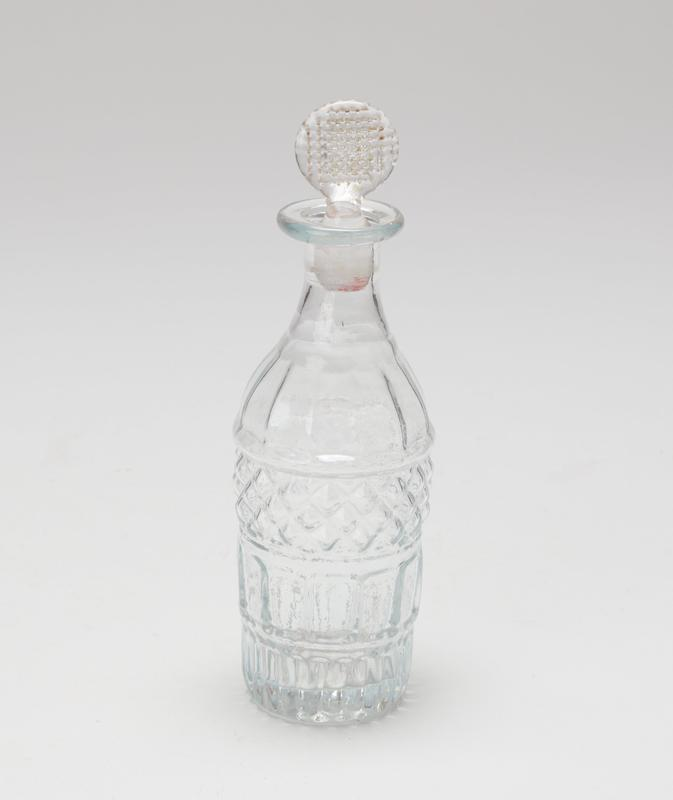 Cruet, glass stopper