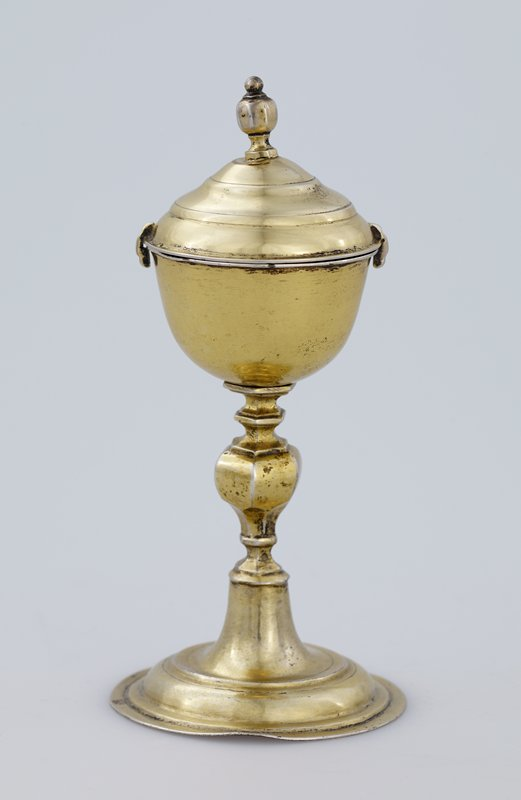 covered chalice, gilt silver