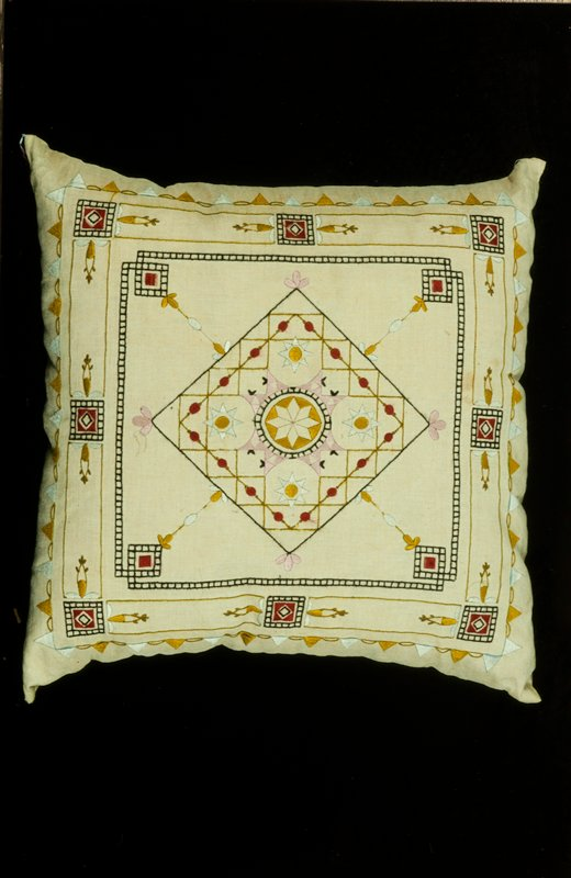 Arts and Crafts era pillow