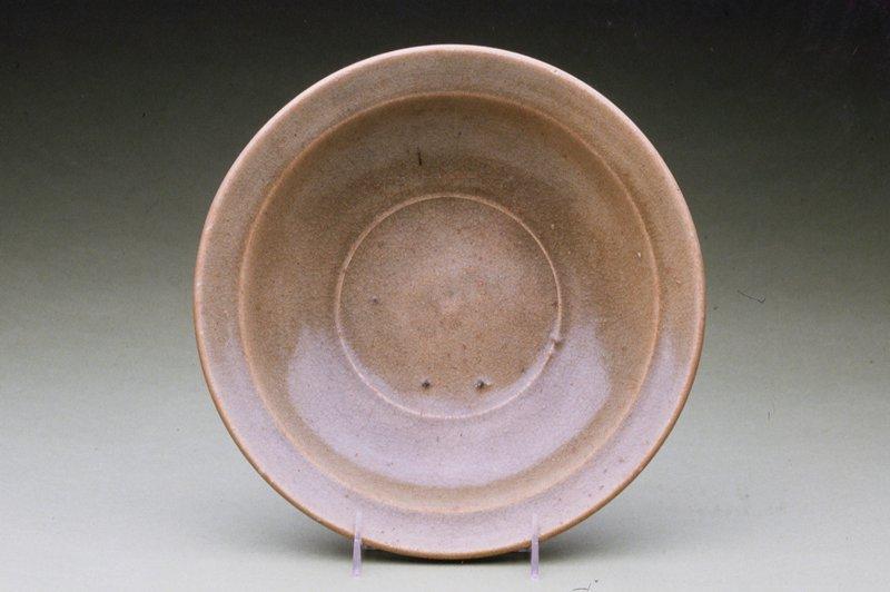 Paan Celadon Plate, stoneware; clear Celadon glaze.