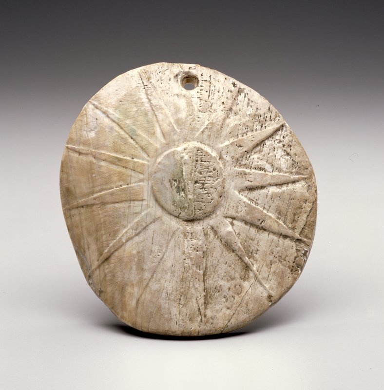 1200-1350 A.D.; excavated at Temple Mound (LaFlore, OK) in 1940s