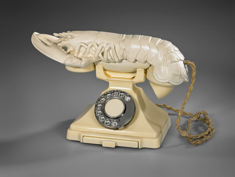 modified telephone; lobster receiver