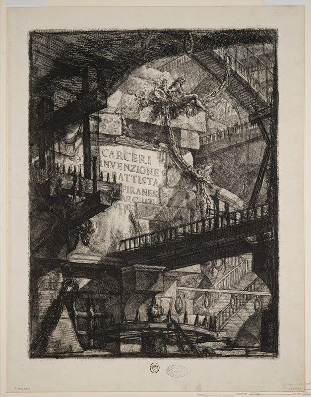 Plate 1 from Carceri d'Invenzione