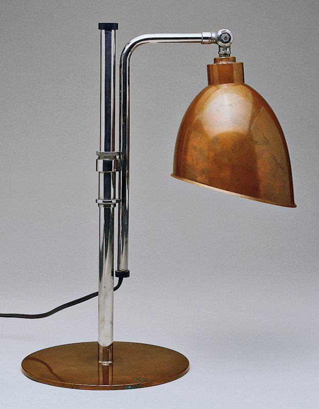 Adjustable copper shade